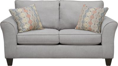 Oliver Loveseat, Grey/Canyon, swatch