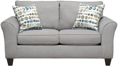 Oliver Loveseat, Grey/Marble, swatch
