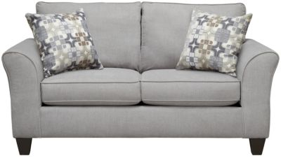 Oliver Loveseat, Grey/Moon, swatch