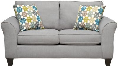 Oliver Loveseat, Grey/Tidal, swatch