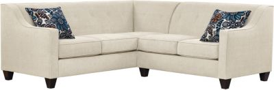 Axis Sectional, Beige/Blue, swatch