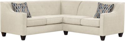 Axis Sectional, Beige/Bluestone, swatch