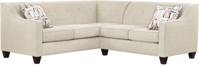Axis Sectional, Beige/Plum, swatch