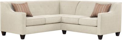 Axis Sectional, Beige/Rose, swatch