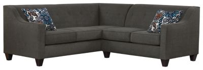 Axis Sectional, Charcoal/Blue, swatch