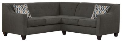Axis Sectional, Charcoal/Bluestone, swatch