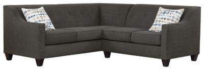 Axis Sectional, Charcoal/Marble, swatch