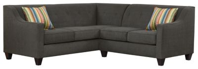 Axis Sectional, Charcoal/Rainbow, swatch