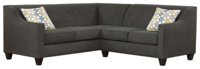 Axis Sectional, Charcoal/Tidal, swatch