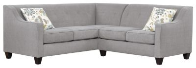 Axis Sectional, Grey/Aloe, swatch
