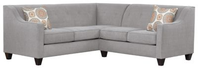 Axis Sectional, Grey/Marmalade, swatch