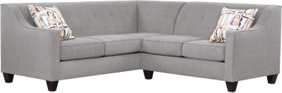 Axis Sectional, Grey/Plum, swatch