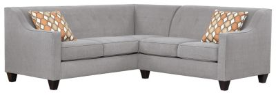 Axis Sectional, Grey/Pumpkin, swatch