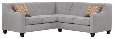 Axis Sectional, Grey/Rose, swatch