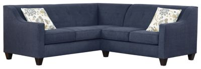 Axis Sectional, Navy/Aloe, swatch