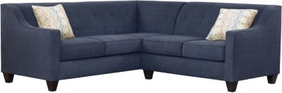 Axis Sectional, Navy/Canyon, swatch
