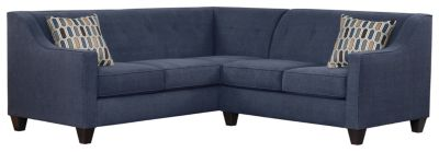 Axis Sectional, Navy/Bluestone, swatch