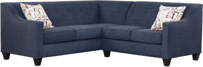 Axis Sectional, Navy/Plum, swatch