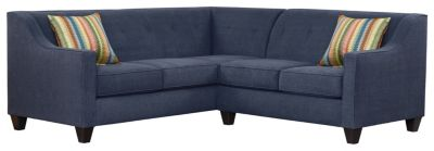 Axis Sectional, Navy/Rainbow, swatch