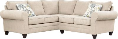 Saxon Sectional, Beige/Aloe, swatch