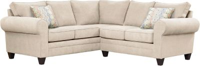 Saxon Sectional, Beige/Canyon, swatch