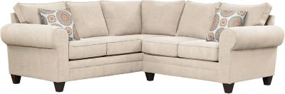 Saxon Sectional, Beige/Marmalade, swatch