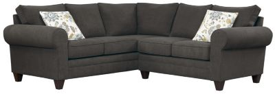 Saxon Sectional, Charcoal/Aloe, swatch