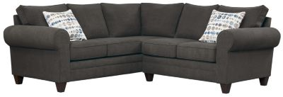 Saxon Sectional, Charcoal/Marble, swatch