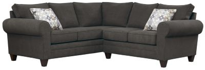Saxon Sectional, Charcoal/Moonstone, swatch
