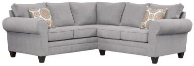 Saxon Sectional, Grey/Marmalade, swatch