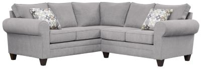 Saxon Sectional, Grey/Moonstone, swatch