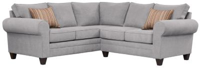 Saxon Sectional, Grey/Rose, swatch