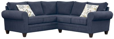 Saxon Sectional, Navy/Aloe, swatch