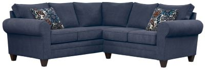 Saxon Sectional, Navy/Blue, swatch
