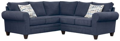 Saxon Sectional, Navy/Marble, swatch