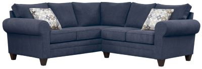 Saxon Sectional, Navy/Moonstone, swatch