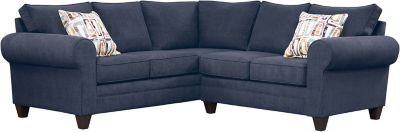 Saxon Sectional, Navy/Plum, swatch