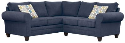 Saxon Sectional, Navy/Tidal, swatch