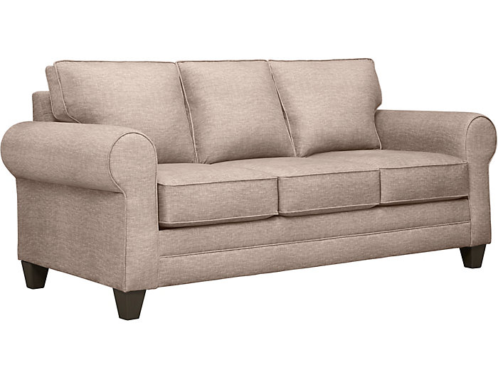 Saxon Ii Baylor Sand Sofa Icicle Pillows Outlet At Art Van