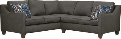 Farrah Sectional, Charcoal/Blue, swatch