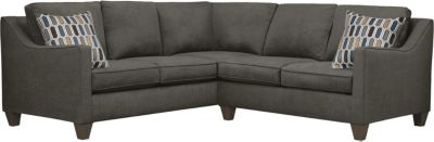 Farrah Sectional, Charcoal/Bluestone, swatch