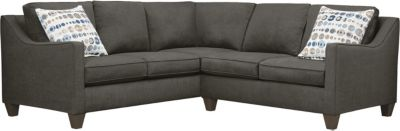 Farrah Sectional, Charcoal/Marble, swatch