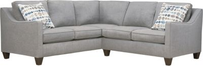Farrah Sectional, Grey/Marble, swatch