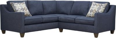 Farrah Sectional, Navy/Moonstone, swatch