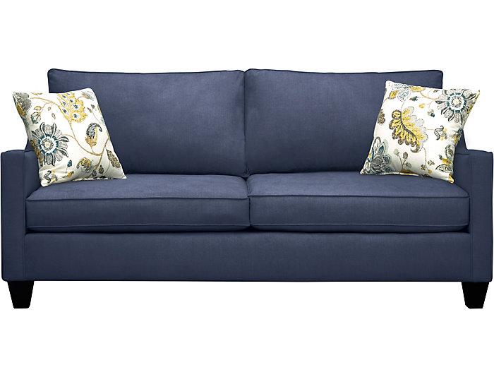 Farrah Navy Sofa, , large