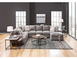 Dorell 3 Piece Sectional, , large