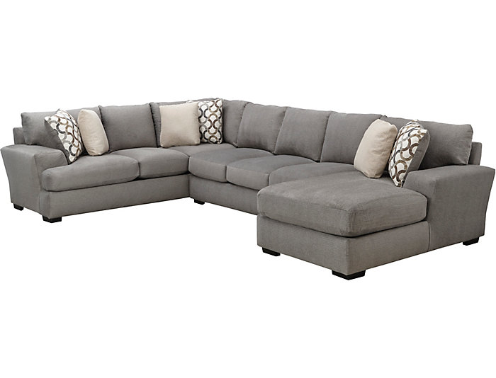 Dorell 3 Piece Sectional Art Van