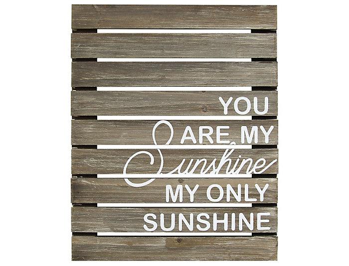 My Sunshine Plank Wall Decor, , large
