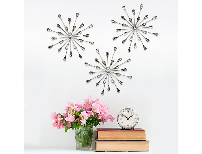 Burst Wall Decor (Set of 3), , large