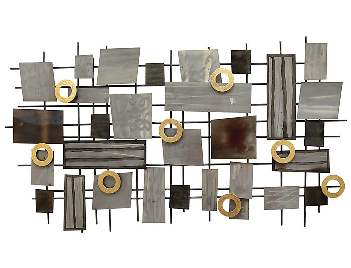 Industrial Mosaic Wall Decor, , large
